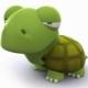 奔跑的小乌龟
