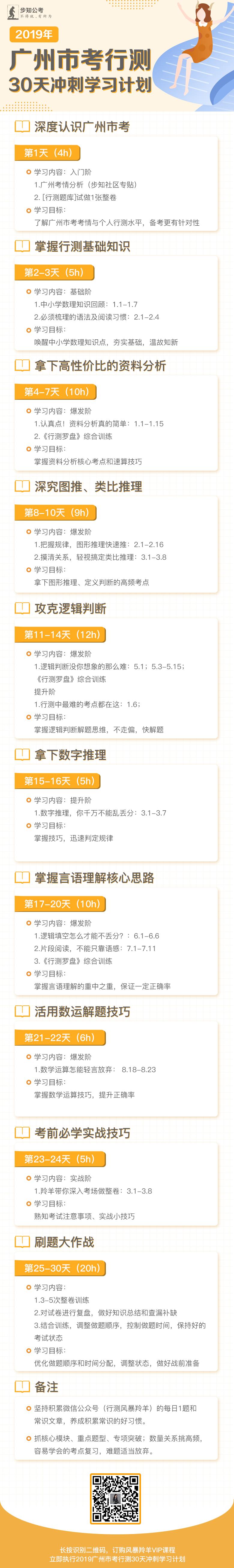2019广州市考行测30天冲刺学习计划.png